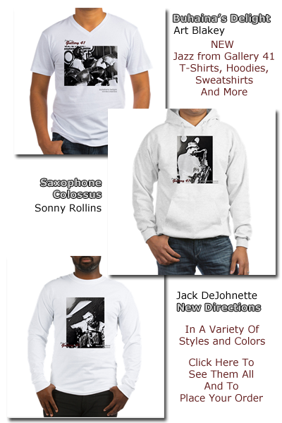 Jazz from Gallery 41 - New Designs Available Now